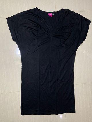 Dress kaos hitam