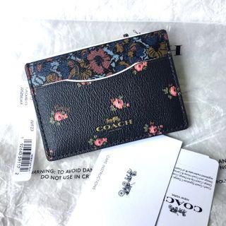 Coach Card Holder 花花新款
