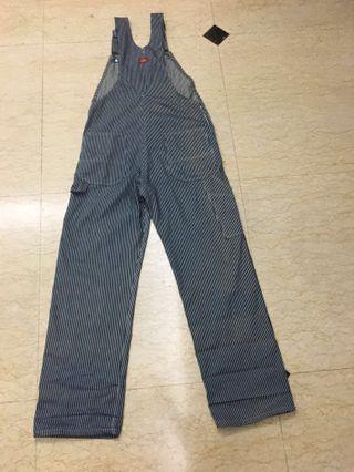 🚚 Dickies 核桃紋吊帶褲