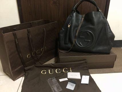 真品Gucci soho 肩背包 近全新 兩天賣不出下架自留
