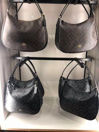 高貴款❣️coach zip shoulder bag