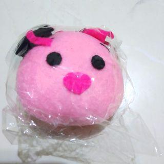 Boneka Babi gantungan kunci wisuda piglet pink toga hadiah handmade felt tsum tsum disney murah lucu #mauthr