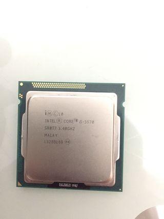 Intel core i5 3570 cpu