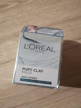 L'oreal Pure Clay Mask Anti Pores