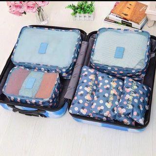Travel Bag Organizer 6 in 1