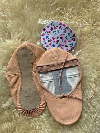 New pink leather Ballet Shoes for 5-8+ years