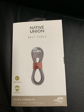 belt cable native union