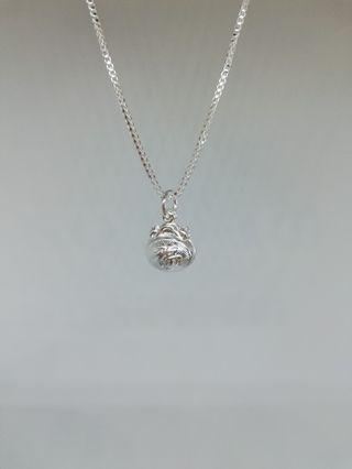 925 silver necklace 福
