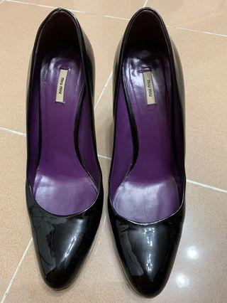 MIUMIU shoes patent leather 8cm heels