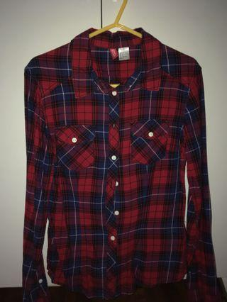 H&M Checkered Shirt