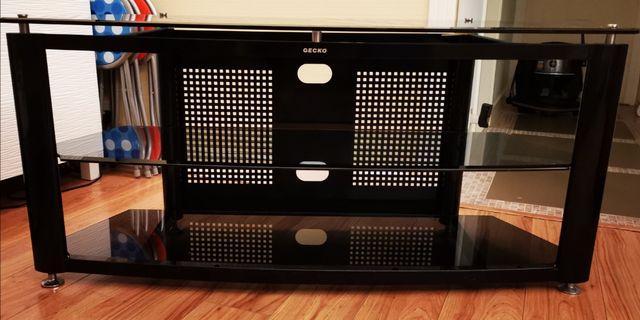 電視影音地柜 強化玻璃