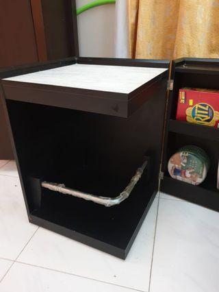 Minimalist Multi purpose hidden cabinet
