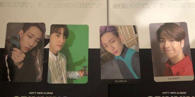 WTT | GOT7 Spinning Top album - photocard pc