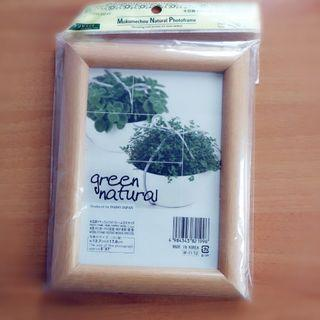 全新韓國製Mokumechou Nature Photoframe 木製簡約風格相架/相框/獎狀架/紀念狀架