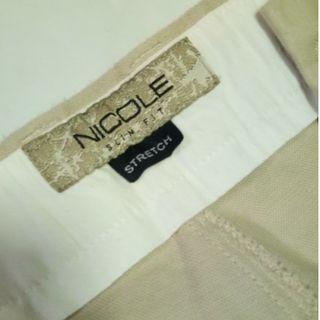 Nicole khaki pants.. (stretch)