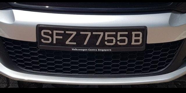 Unique car plate no.