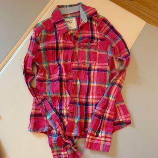 Abercrombie and Fitch Flannel Shirts