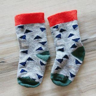 Cotton On Baby socks - triangles (for 3-6 mth)