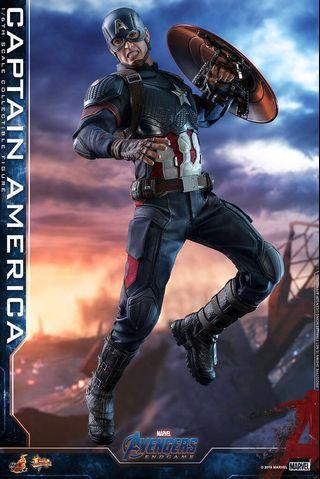 Hottoys Advengers 4 Endgame Captain America MMS536訂單
