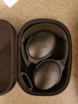 Bose Quietcomfort headphone 耳機
