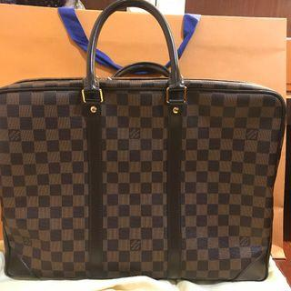 LOUIS VUITTON Damier Graphite briefcase
