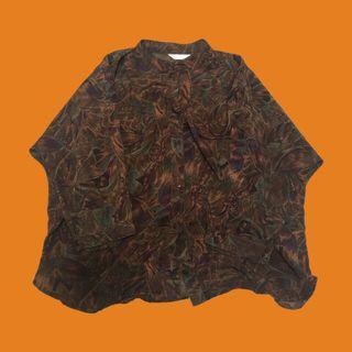 🚚 復古長袖襯衫(中山領)
