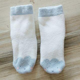 H&M baby socks - cloud (newborn)