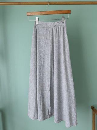 A Line Maxi Skirt