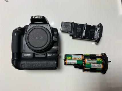 Canon 400D Body with 直到手柄