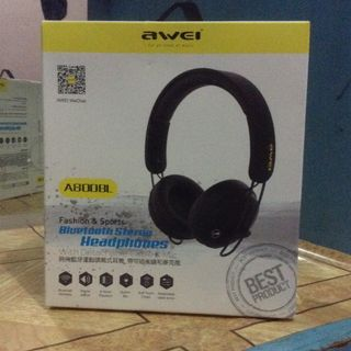 27b8637b657 AWEI A800BL Bluetooth Stereo Headphones (with Detachable Cable ...