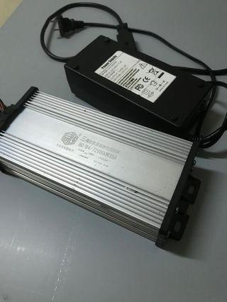 Controler 800w60/64/72+charger