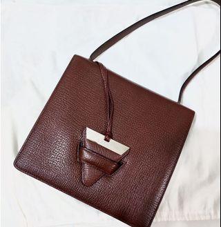 Authentic Loewe Barcelona Vintage Shoulder Bag Not Celine Chanel