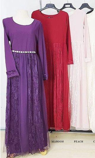 Jubah Dress Lace