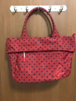 Polkadot Red Bag