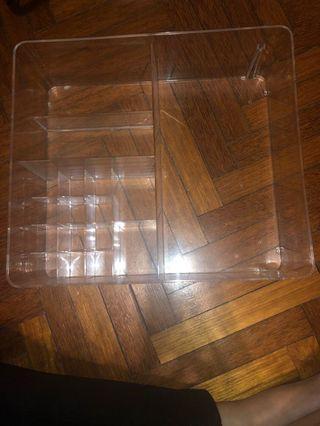 Ikea Acrylic Container