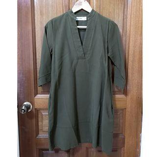TEM Olive Tunic Dress