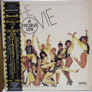 歌舞線上 A Chorus Line 電影原聲 黑膠唱片 LP