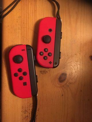Switch 紅色手掣兩個