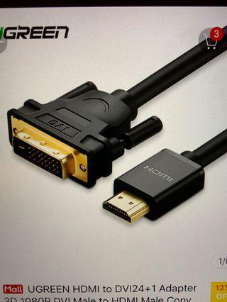 Monitor Cable 50% off