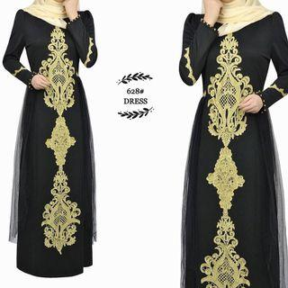 Dress Jubah Black
