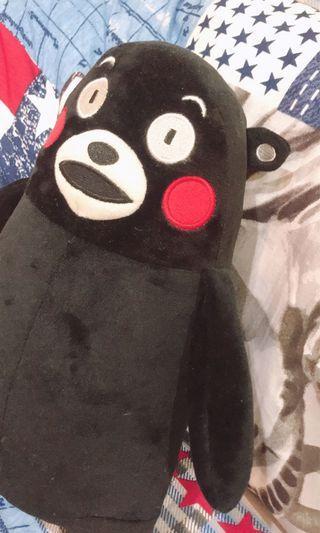🚚 熊本熊黑色娃娃