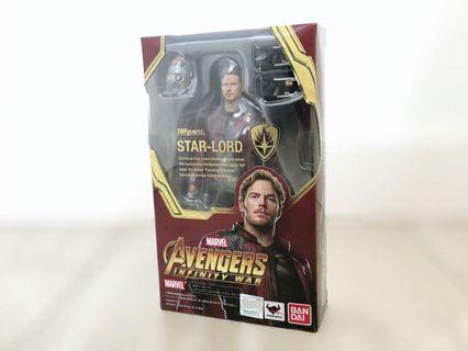 SHF Star Lord 全新 星爵 Banbai S.H.Figuarts Marvel Guardians of the Galaxy 銀河守衛隊 Avengers Infinity War 復仇者聯盟 無限之戰 Endgame 終局之戰