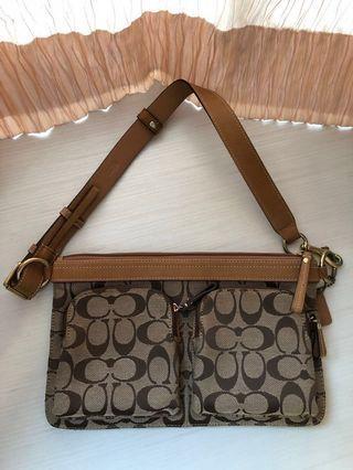 🚚 Coach Waist/Shoulder Bag (Authentic)