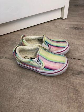 Vans 布鞋九成新 14cm有盒