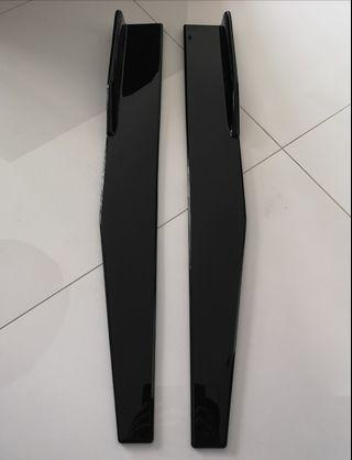 Universal half length side skirts