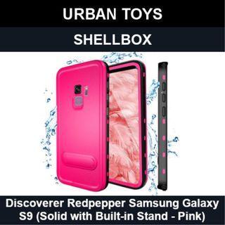 Shellbox Waterproof Case Samsung Galaxy S9 / Pink