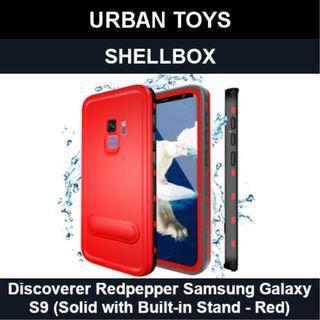 Shellbox Waterproof Case Samsung Galaxy S9 / Red