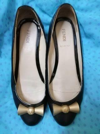 Fendi low heels