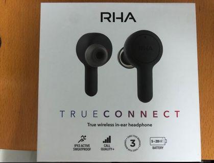 RHA true connect 真無線藍牙耳機