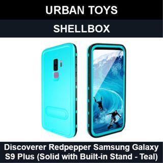 Shellbox Waterproof Case Samsung Galaxy S9 Plus / Teal